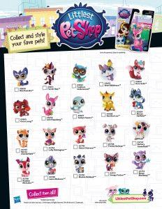 Series 5 Littlest Pet Shop Checklist List
