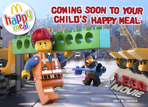 Mcdonald S Happy Meal Toys February 2014 The Lego Movie Cups Kids Time