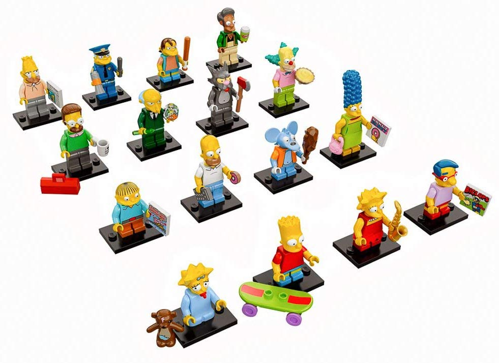 LEGO NEW SIMPSONS MINIFIGS HOMER BART MARGE LISA TOWN CITY MORE YOU PICK!!