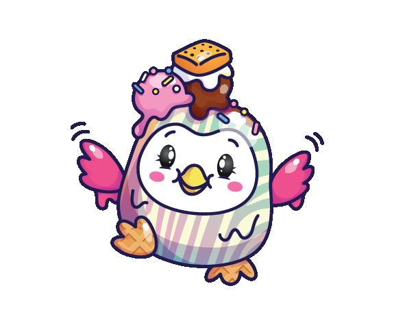 Pikmi Pops Surprise Series 3 ~Barney the Owl PushMi Ups