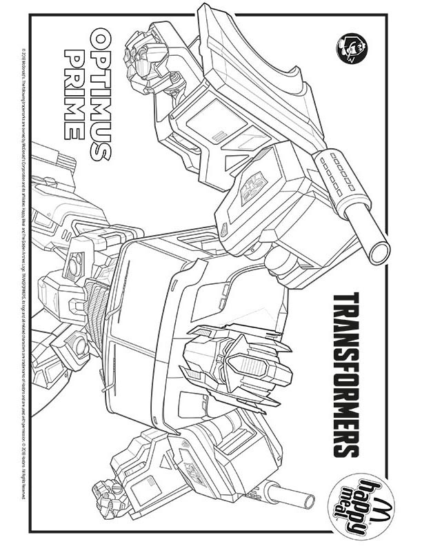 Pics Of Optimus Prime Truck Coloring Pages Pages adult | 792x612