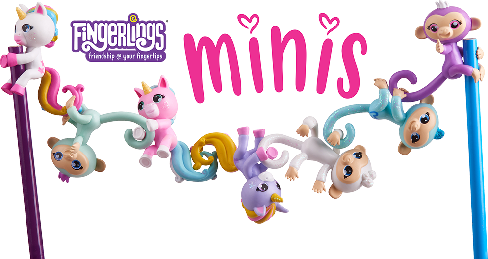 Fingerlings Minis List Of Characters Checklist Kids Time