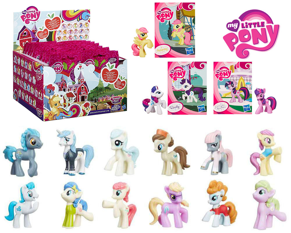 My Little Pony Mlp Blind Bags List Of Characters Checklist Kids Time