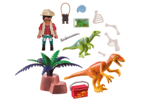 Playmobil 70108 Dino Explorer Carry Case L