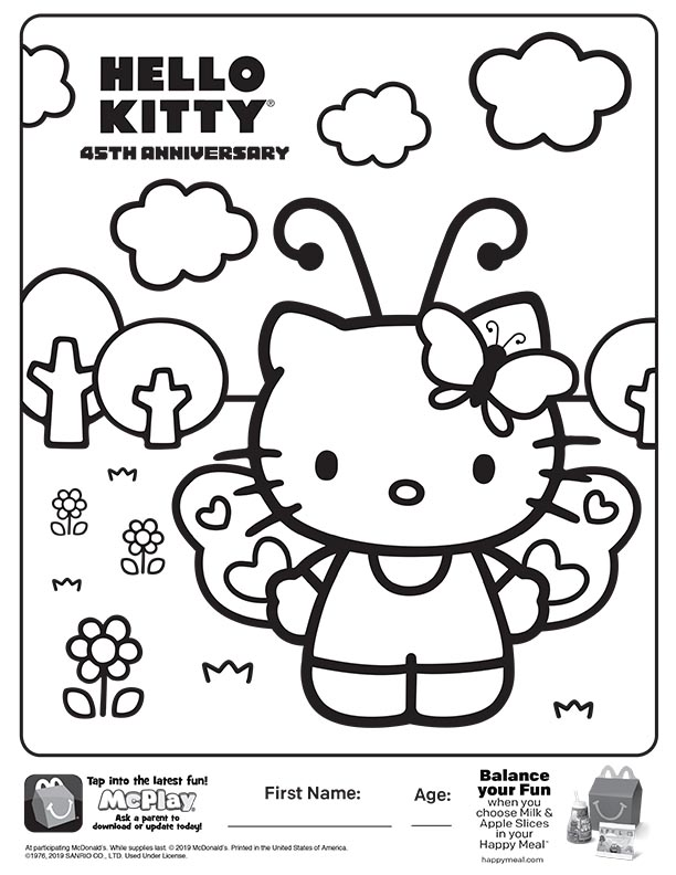 Free Printable Hello Kitty Coloring Pages For Kids | 792x612