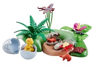 Playmobil 6597 Dino Babies with Nest