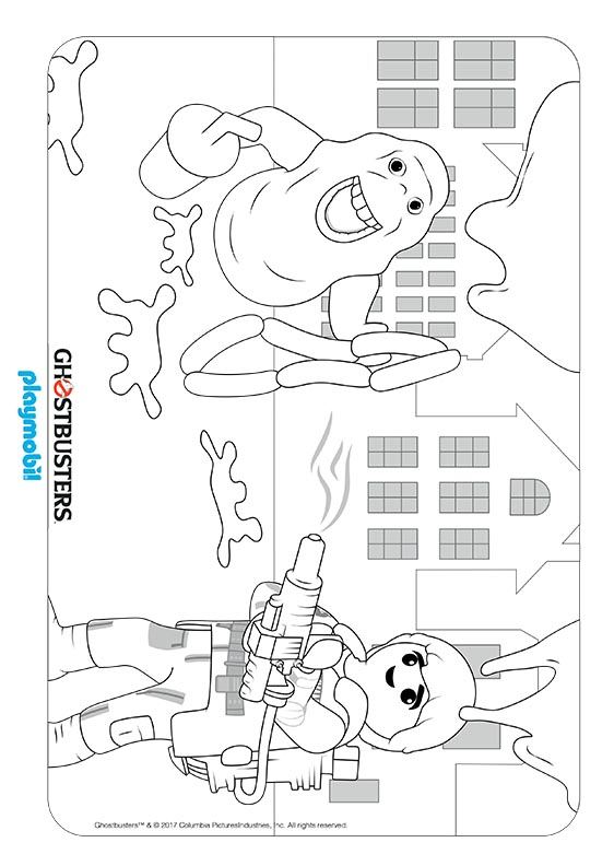 Printable Ghostbusters Coloring Pages For Kids | 792x562