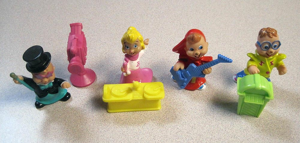Mcdonald S Happy Meal Toys 1991 Alvin And The Chipmunks Kids Time