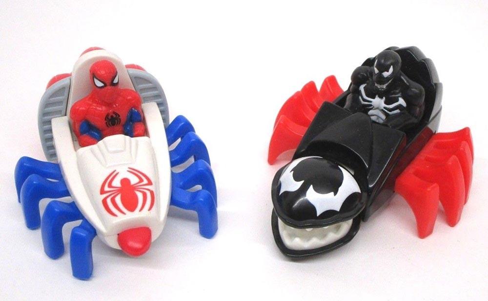 Marvel 1994 McDonalds Happy Meal Venom Transport # 6 Spider-Man