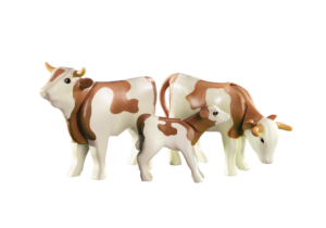 Playmobil Country - 6356 2 Cows with Calf