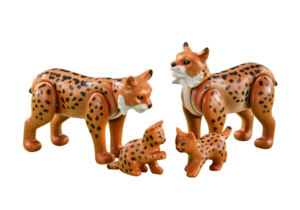 Playmobil Country - 6540 Lynx Family
