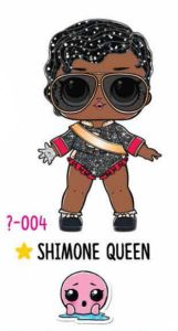 L.O.L. Surprise! Makeover Series Hair Goals – 1-004 Shimone Queen