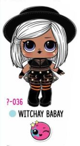 L.O.L. Surprise! Makeover Series Hair Goals – 1-036 Witchay Babay