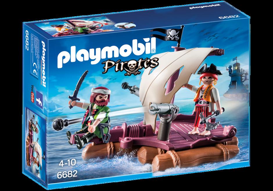 Playmobil Pirates Raft Carry Case 5655 NEW