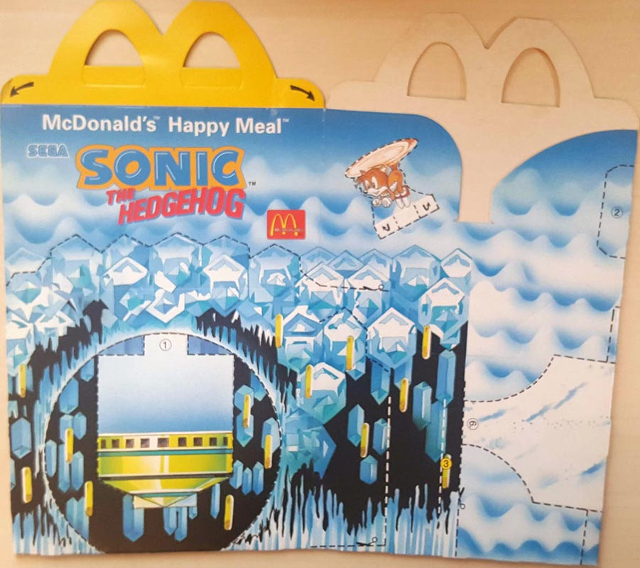 Mcdonald S Happy Meal Toys 1995 Sonic The Hedgehog Kids Time