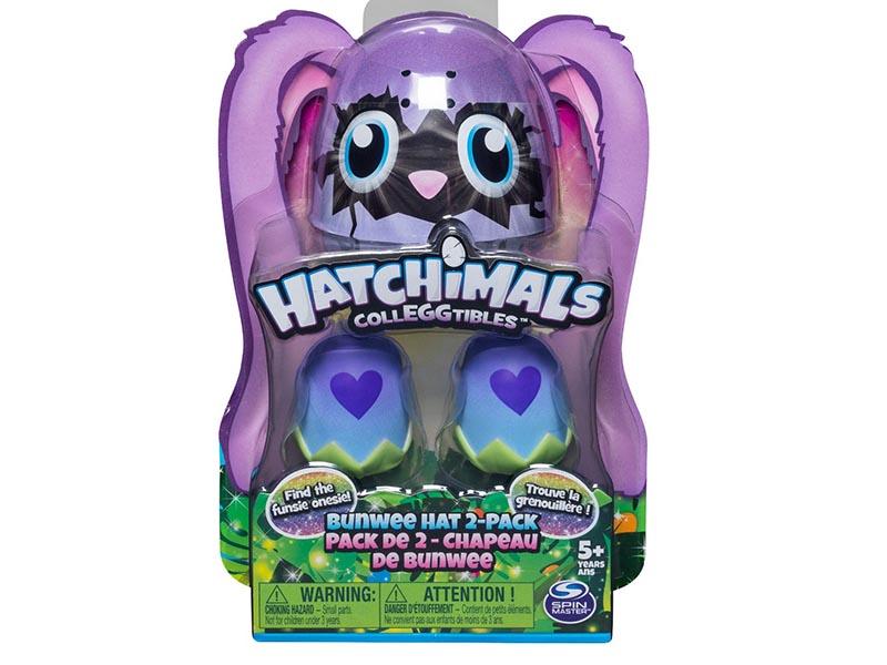Hatchimals CollEGGtibles Bunwee Hat 2pk with Season 5 Hatchimals