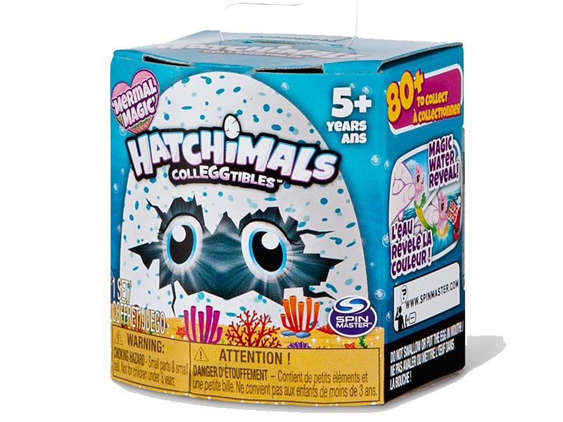 Hatchimals CollEGGtibles Mermal Magic 1pk with a Season 5 Hatchimal