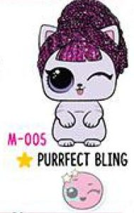M-005 Purrfect Bling