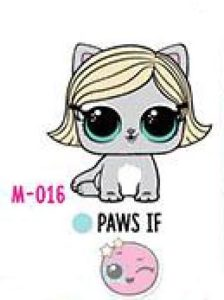 M-016 Paws If
