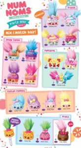 Num Noms Party Hair Collector Guide List Checklist