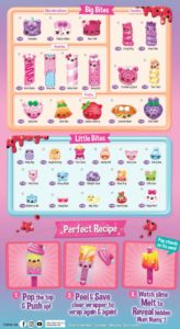 Num Noms Snackables Melty Pops Series 3 Collector Guide List Checklist 1