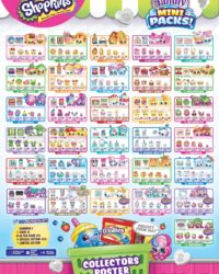 Shopkins Season 11 Family Mini Packs Collector Guide List Checklist