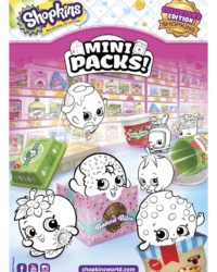 Shopkins Mini Packs Coloring Sheet 2