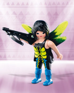 Playmobil Figures Series 10 Girls - Dark Fairy