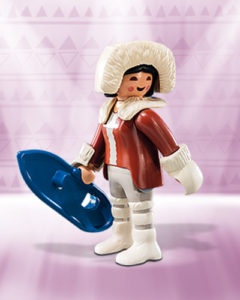 Playmobil Figures Series 10 Girls - Eskimo / Inuit