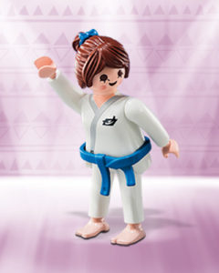 Playmobil Figures Series 10 Girls - Judo Fighter