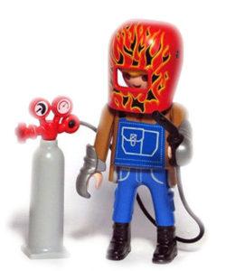 Playmobil Figures Series 14 Boys - Welder