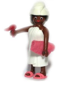 Playmobil Figures Series 14 Girls - Woman in Bathroom