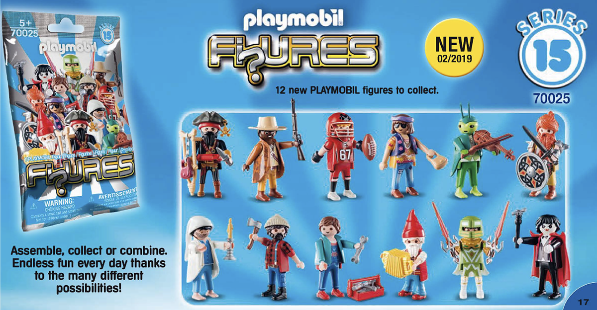 PLAYMOBIL Figures serie 15 GIRLS NUOVO
