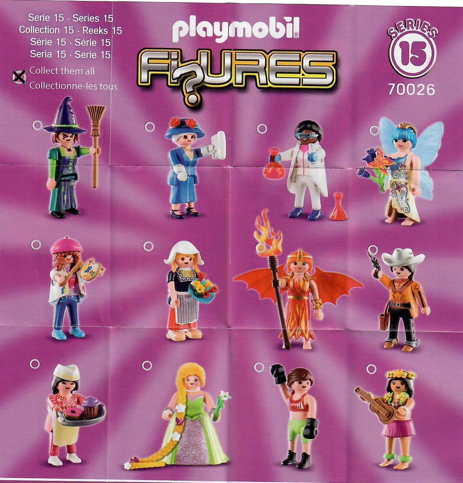 Playmobil 70026 Mystery Figures Girls SERIES 15 PASTRY CHEF