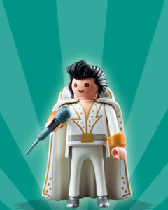 Playmobil Figures Series 2 Boys - Elvis