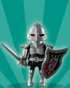 Playmobil Figures Series 2 Boys - Knight