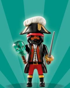 Playmobil Figures Series 2 Boys - Pirate Captin