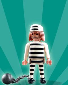 Playmobil Figures Series 2 Boys - Prisoner