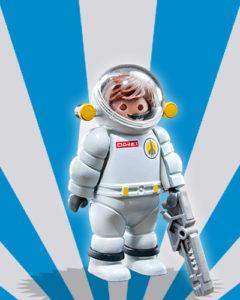 Playmobil Figures Series 5 Boys - Astronaut