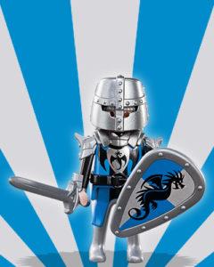 Playmobil Figures Series 5 Boys - Knight