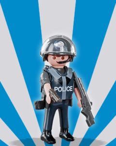 Playmobil Figures Series 5 Boys - Riot Police
