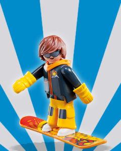 Playmobil Figures Series 5 Boys - Snowboarder