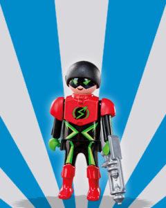 Playmobil Figures Series 5 Boys - Super Hero
