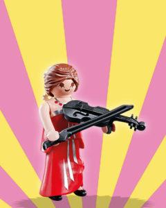 Playmobil Figures Series 5 Girls - Violinist