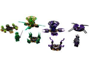 Lego Ninjago Spinjitzu Lloyd vs. Garmadon - 70664