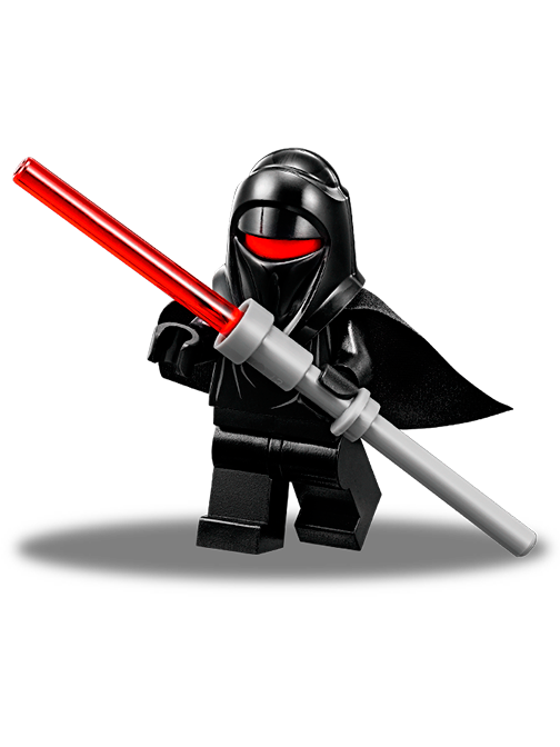 Lego type mini figurine serie movie star wars imperial guard