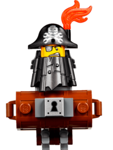 Lego The Lego Movie 2 Characters - MetalBeard