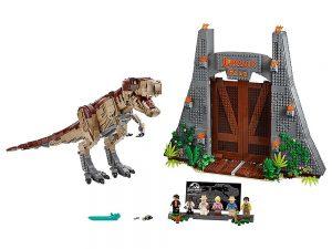 LEGO® Jurassic World™ Products Jurassic Park: T. rex Rampage 75936