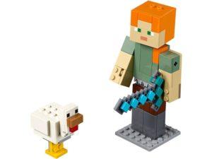 LEGO® MINECRAFT Products Minecraft™ Alex BigFig with Chicken - 21149