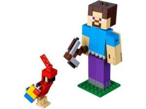 LEGO® MINECRAFT Products Minecraft™ Steve BigFig with Parrot - 21148